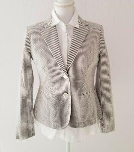 Nwt Ralph Lauren Women S Seersucker Blazer Jacket Sage Green Moss