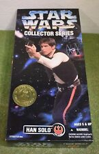 "STAR WARS COLLECTOR SERIES 12"" HAN SOLO A NEW HOPE"