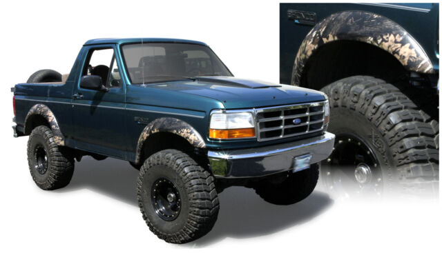 Bushwacker 20904-11 Extend-A-Fender Flares 92-96 Ford F-150/250/350/Bronco Set