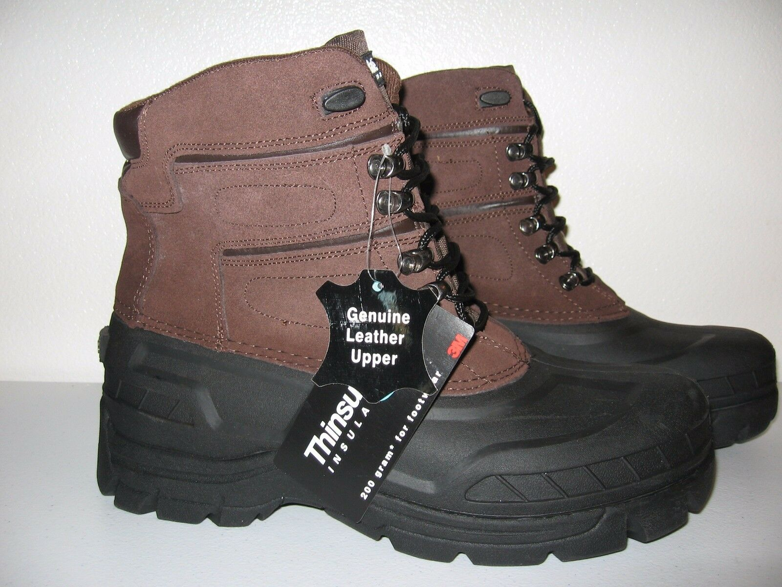 MENS ELKWOOD ICICLE THINSULATE BROWN SIZE 11 BOOTS NEW IN BOX