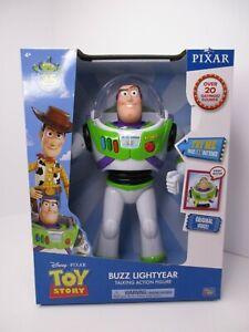 "Disney Pixar Toy Story 4 Buzz Lightyear 12"" Action Talking Figure 20+ Sayings"