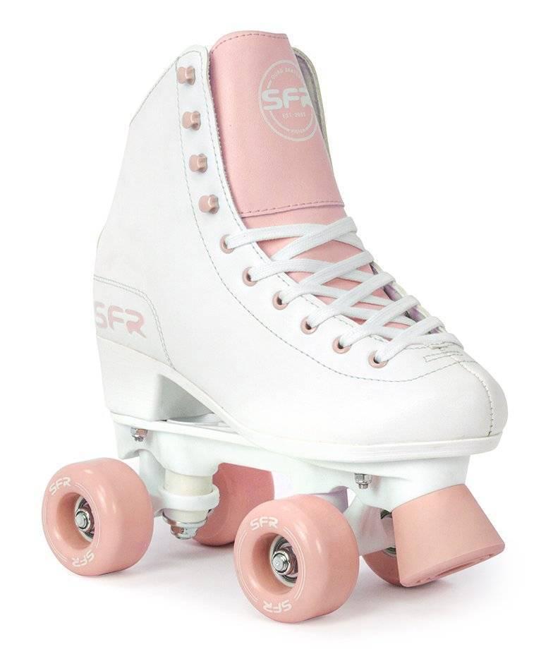 SFR Figure Rollschuhe weiß-rosa Mädchen NEU 105341