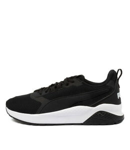 New Puma Anzarun Blk Wht Mens Shoes Active Sneakers Active