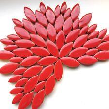 pétale PAQUET - 50g céramique vernie - Rouge