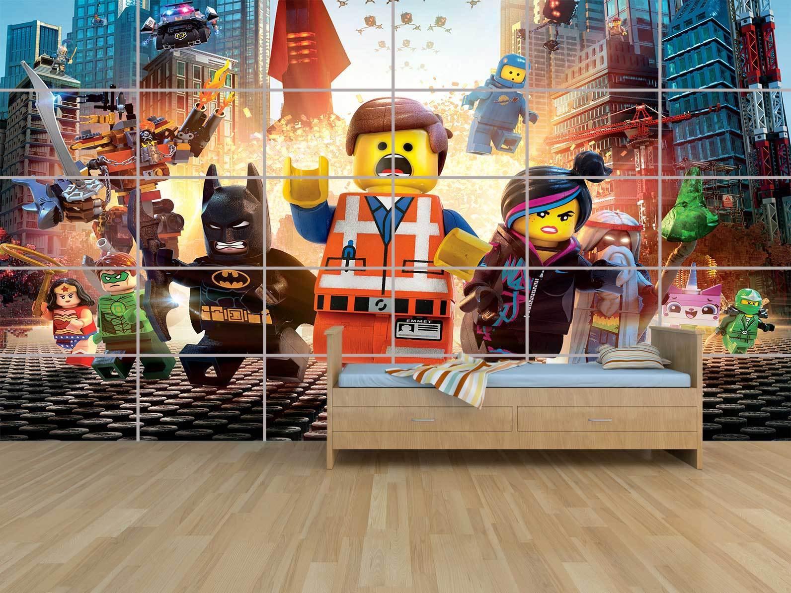 NEW LEGO MARVEL AVENGERS HEROES POSTER SALLE MASSIVE HUGE ROOM KIDS SALLE POSTER DE JEUX a5d9bf