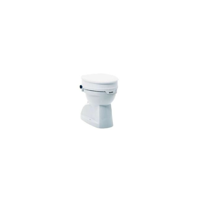Groovy Invacare Aquatec 90 Toilet Seat Raiser With Lid White Gmtry Best Dining Table And Chair Ideas Images Gmtryco