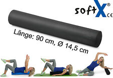 softX Pilates Rolle Schwarz | Gymnastik, Yoga, Therapie, Reha, Massage  NEU+OVP