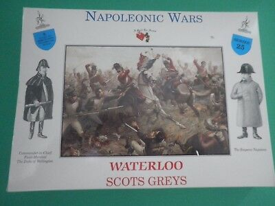 A Call To Arms 1:32 Waterloo Scots Greys Napoleonic Wars Soldatini Su Sprue Costo Moderato