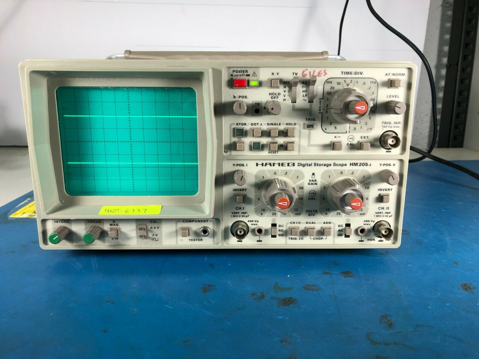 Hameg Instruments Oscilloscope HM 408 Analog Digital Speicher Oszilloskop