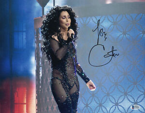 WOW-CHER-SIGNED-AUTHENTIC-AUTOGRAPH-11X14-PHOTO-BECKETT-BAS-COA-12