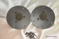 Vintage Dome Tweeters 8 Ohm Speakers Pair With Gaskets Screws From 1977