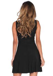 799fd8caf87d0 Details zu Basic Kleid kurz für Damen-Kostüme von Leg Avenue Kostümzubehör  Skaterkleid