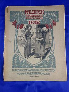 Kalender für das Erzgebirge und das übrige Sachsen 1912, 8. Jahrgang Bad Elster