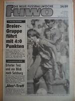 FUWO 34-22.8. 1989 3* Wosz Ziffert Halle-FC Karl-Marx-Stadt 4:0 Cottbus-Jena 1:0
