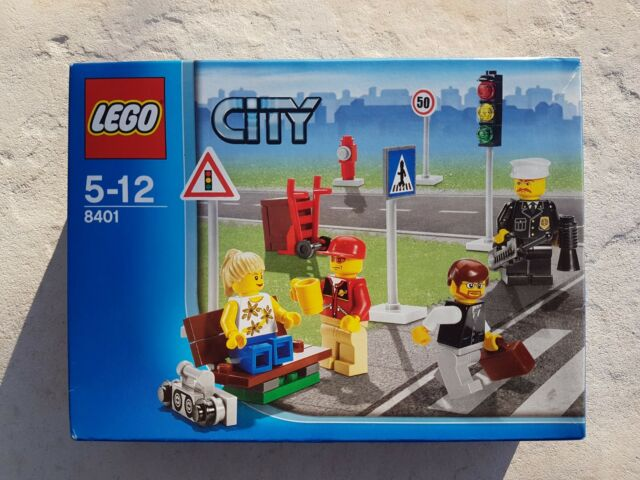 LEGO 8401 City Minifigure Collection - Retired Set. Brand New!