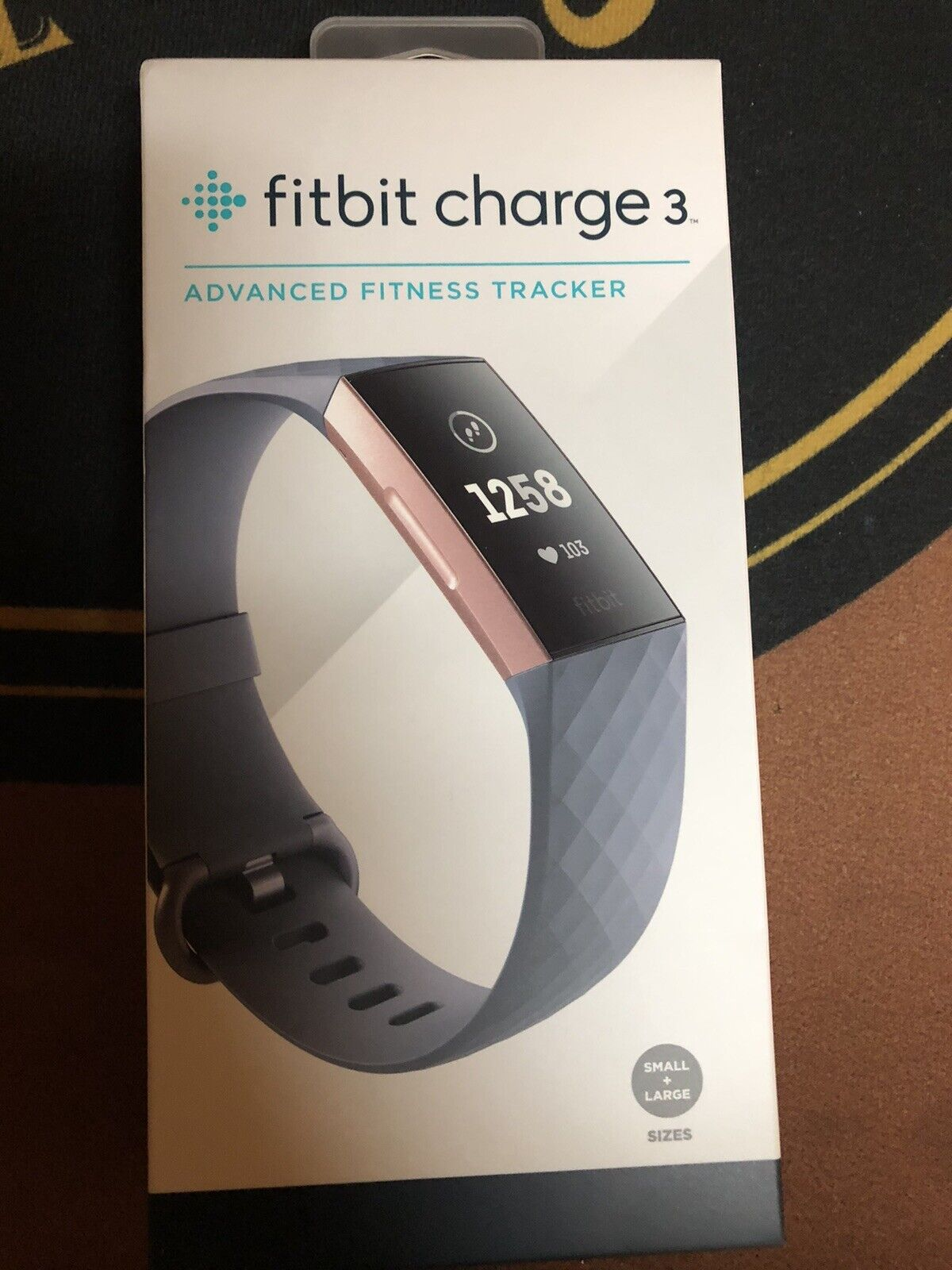 Fitbit Charge 3 Fitness Activity Tracker - Rose Gold New Still In Box