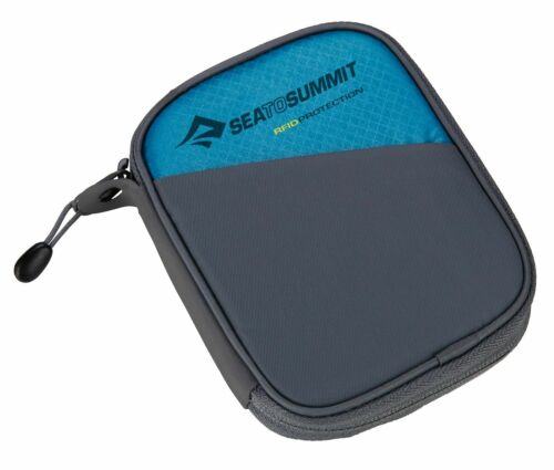 Sea To Summit Travel Wallet RFID S Geldbörse Geldbörse Blue Blau Grau
