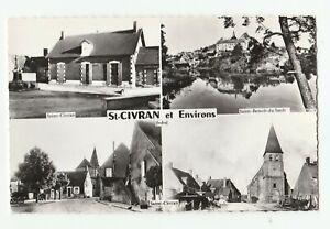 Saint-Civran et environs/Indre/36 Pêle-Mêle Eglise/Saint Benoit du Sault/Rivière