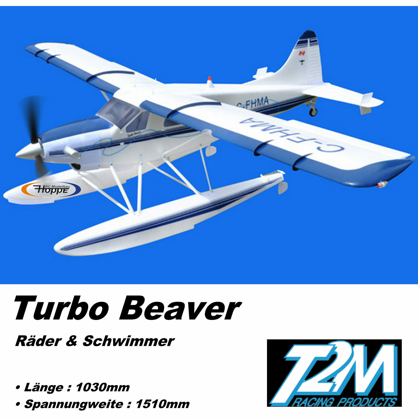 T2m Turbo Beaver Arf Brushless Transport Aeroplane Float Light T4516