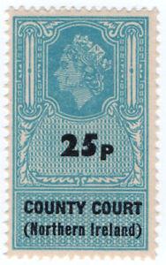 I-B-Elizabeth-II-Revenue-County-Courts-Northern-Ireland-25p