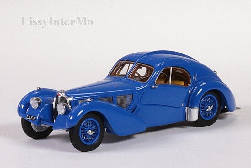 Bugatti t57 SC ATLANTIC 1938 Minichamps 1:43 Nuovo/Scatola Originale