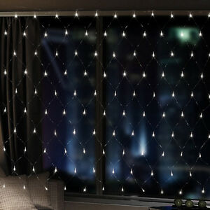 Led Christmas Wall Lights : 672 LED Net Fairy Lights LED s Christmas Party Indoor Wall Light 4x6M WHITE eBay
