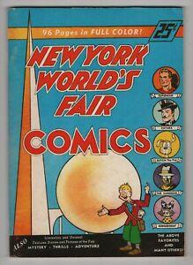 1939-New-York-World-039-s-Fair-Comics-96-page-1974-reprint-Flashback-12-Superman