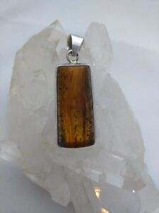 Large-Vintage-Baltic-Amber-Pendant-set-in-Sterling-Silver-for-Necklace-Genuine