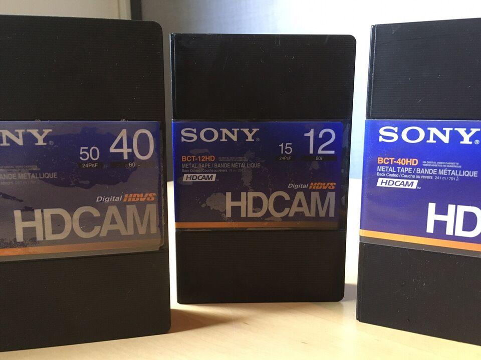 Betacam, Sony, HDCam bånd
