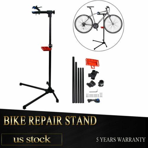 Home Bicycle Maintenance Repair Tool Rack Steel Bike Work Stand Holder New