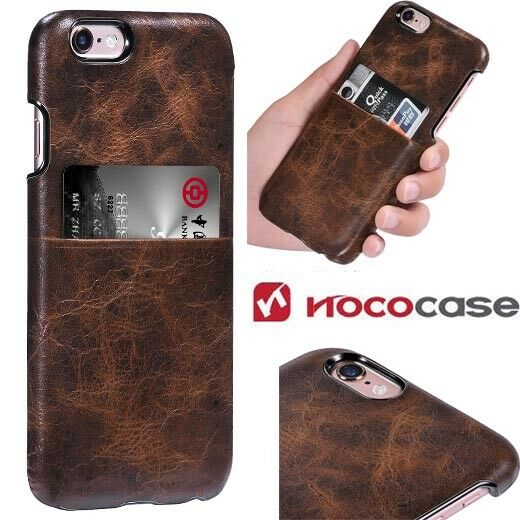 new style e21f9 8d308 Hoco Platinum Series 1 Genuine Leather Back Case Cover Apple iPhone 6 6s -  Brown