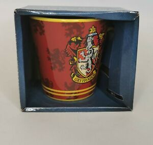 Official Harry Potter Gryffindor House Crest Mug Coffee Tea Gift Boxed NEW