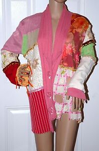 Couture M Cardigan Applique Brazil 620 New Paradyz Patchwork Sequin Sweater wqzvEx
