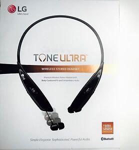55da0d4dbdf LG TONE ULTRA HBS-810 Premium Wireless Bluetooth Stereo Headset ...
