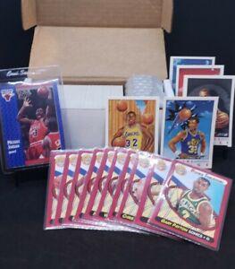 1991-039-92-039-Fleer-Basketball-Set-w-Pro-Visions-Inserts-amp-Rookie-Sensations-Sub-Set