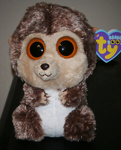"Ty Beanie Boos ~ SPIKE the Hedgehog 6"" ~ MWMT"