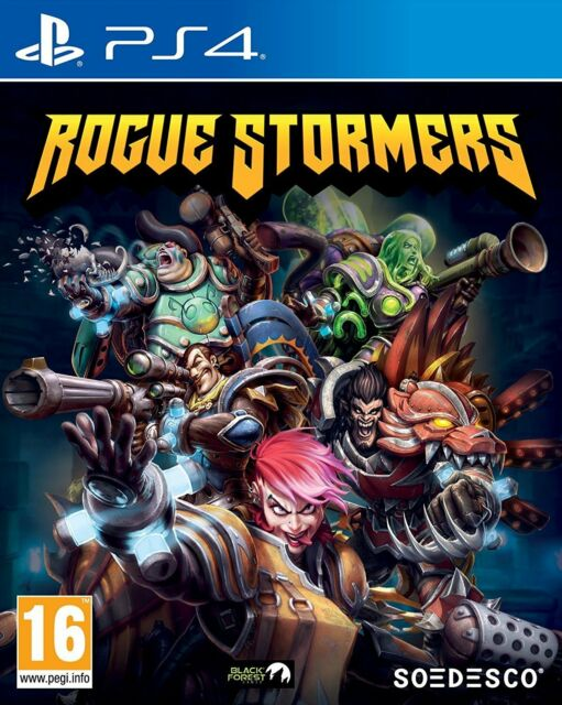 Rogue Stormers (PS4) BRAND NEW SEALED