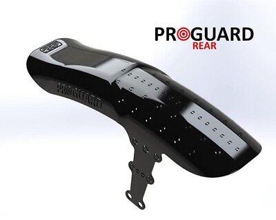 Crud RACEGUARD XL Rear Guardabarros Negro Unisex Adulto