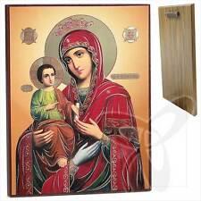 Ikone GM. Dreihändige Holz 30 x 40 Троеручица Богородица икона ikona