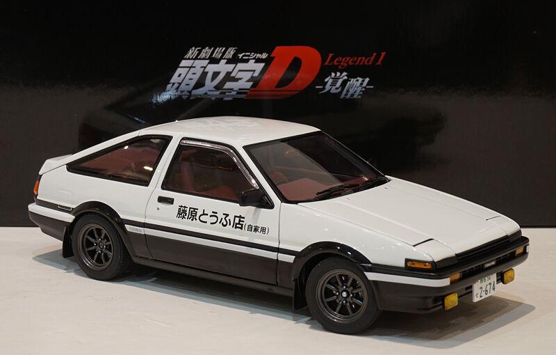 Autoart 1 18 Toyota Sprinter Trueno AE86 Initial D Legend 1 Diecast 78798 RARE