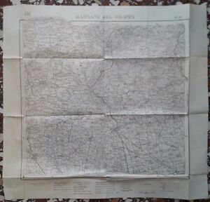 Cartina Geografica Bassano Del Grappa.D27 Carta Mappa F 37 Bassano Del Grappa Istituto Geografico Militare Anno 1935 Ebay