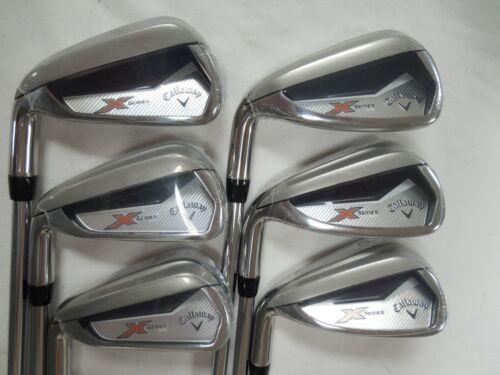 New Lh Callaway X Series N415 Iron Set 5 Pw Steel Uniflex Left