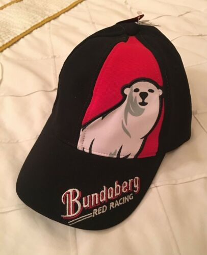 BUNDABERG RED RACING CAP BRAND NEW SIZE 59 CM