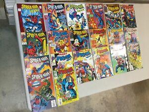 Lot-Of-20-Spider-man-2099-1-2-4-5-7-8-10-12-14-15-16-18-21-22-23-Marvel-Comics