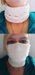 Mund-Nasen-Schutz Loop Schlauchschal MNS Schaltuch Mundtuch Maske 90°kochfest