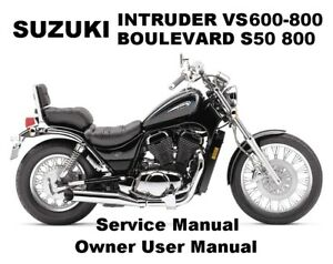 suzuki intruder vs 750 800 boulevard s50 service workshop repair rh ebay co uk 90 Suzuki Intruder 750 1986 suzuki intruder 750 manual