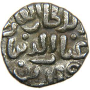 INDIA, Dehli Sultans, Nur al-Din Tughluq, 1320-1325, Billon 4-Gani, Tye 437.