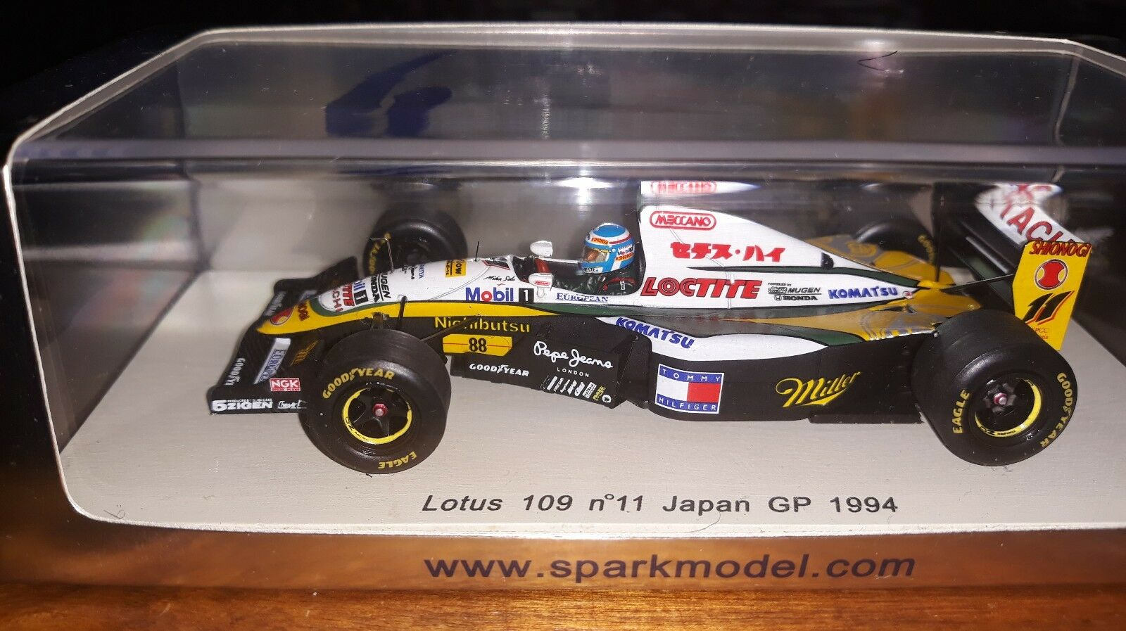 Spark 1 43 Lotus 109  11 Japan GP 1994 Mika Salo S1780