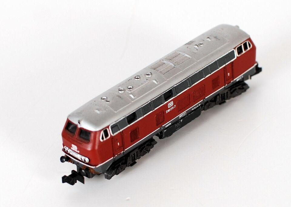 Modeltog, Atlas DB 216011, skala N