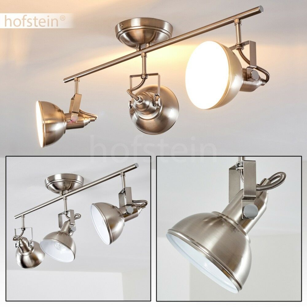 Plafonnier 3 branches Lampe à suspension Lustre Lampe de corridor Vintage 173700